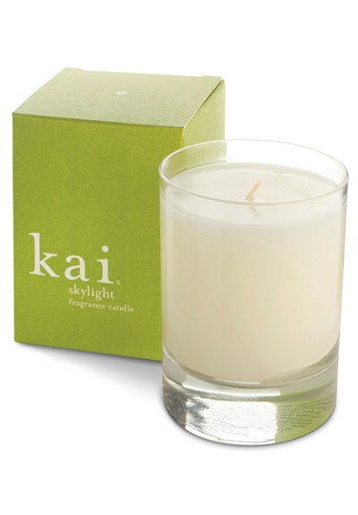 Skylight Candle  Glass Votive  by Kai