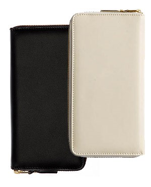 Classic Leather - Plain Billfold Long (SA0100)    by Comme des Garcons Leather