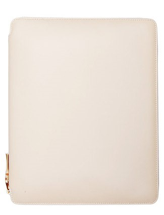 iPad Leather Case - Cream   by Comme des Garcons Leather