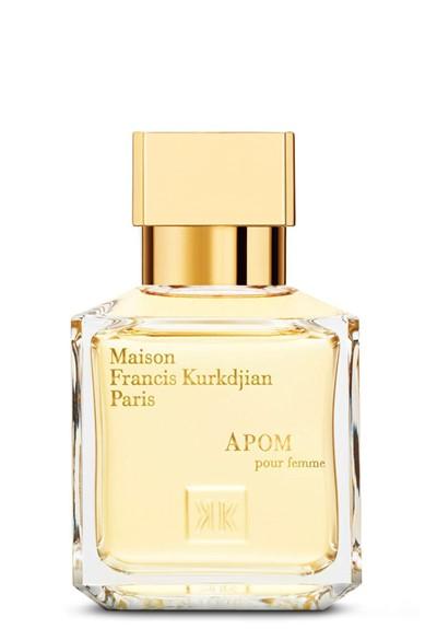 Apom pour femme eau de parfum by maison francis kurkdjian for Apom pour homme maison francis kurkdjian
