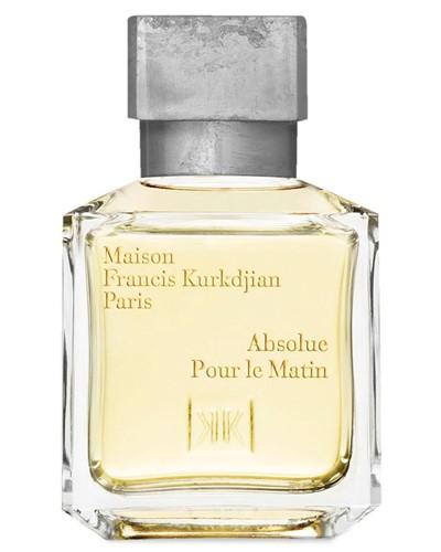 Absolue pour le matin eau de parfum by maison francis for Absolue pour le soir maison francis kurkdjian