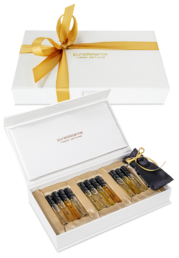 perfume sample gift set by puredistance