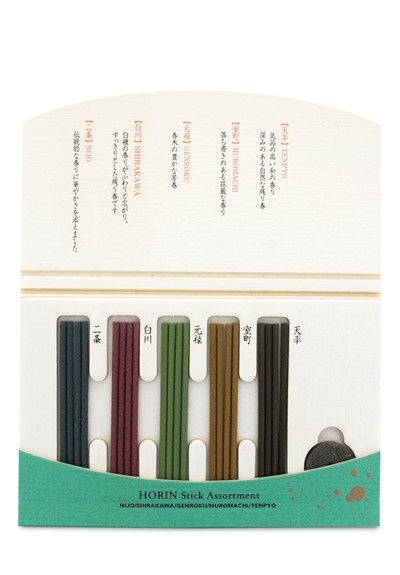 Horin Incense Assortment (Kyo-gosai)    by Shoyeido