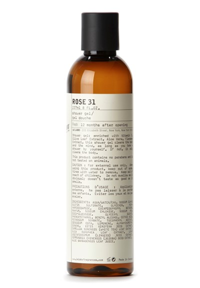 Rose 31 shower gel by le labo body care luckyscent - Rose 31 shower gel ...