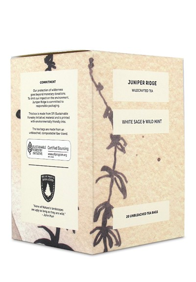 White Sage and Wild Mint  Wild Harvested Tea  by Juniper Ridge