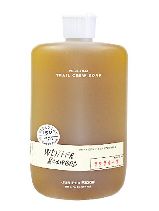 Winter Redwood - Trail Crew Soap Body Wash by  Juniper Ridge