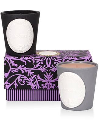 Mini Candle Gift Box: Chestnut & Arabian Nights Scented Candle Set  by Laduree