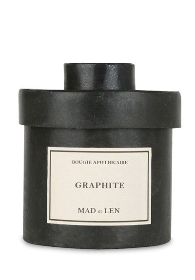 Graphite Candle  Scented Candle  by Mad et Len