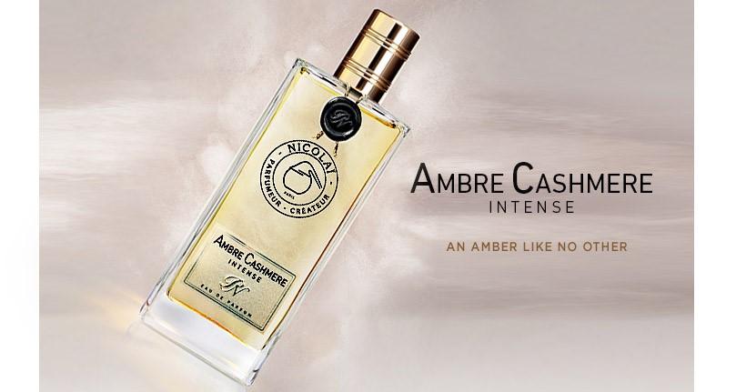 New Parfums de Nicolai Ambre Cashmere Intense