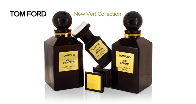 1 - Tom Ford Extraits Verts Collection
