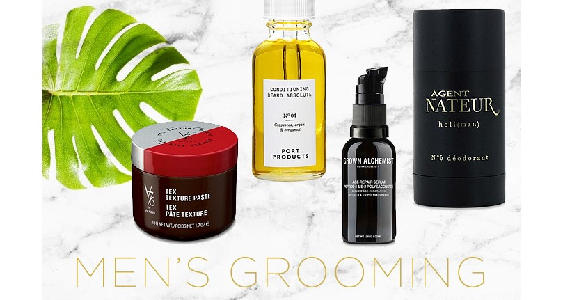 6 - Check out our Men's grooming section