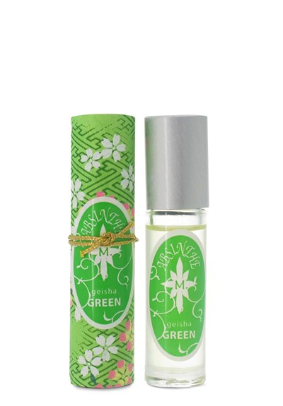 Geisha Green roll-on perfume oil  by Aroma M