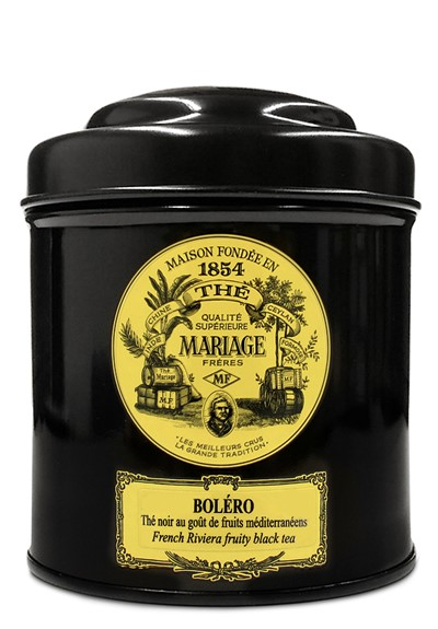 Bolero  Black Tea- Loose Leaf  by Mariage Freres