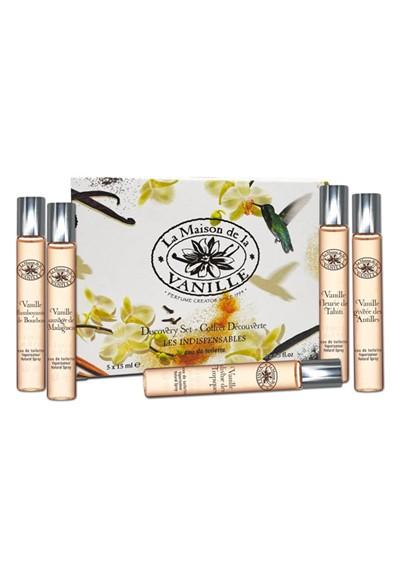 5-pack sampler Eau de Toilette  by La Maison de la  Vanille