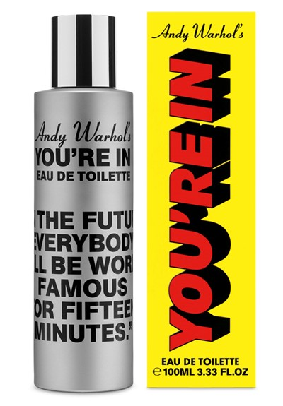 Andy Warhol's You're In  Eau de Toilette  by Comme des Garcons