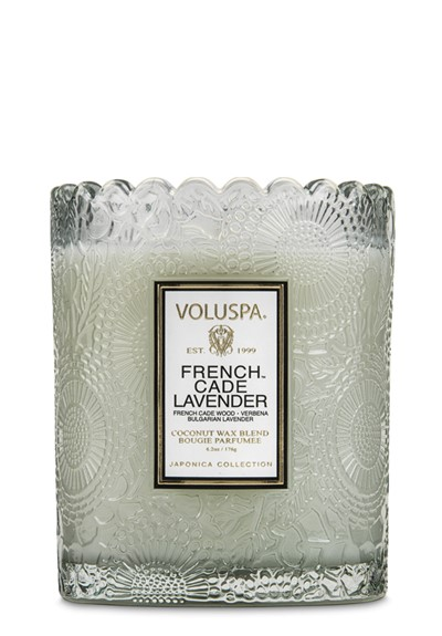 French Cade Lavender  Scented Candle  by Voluspa Candles