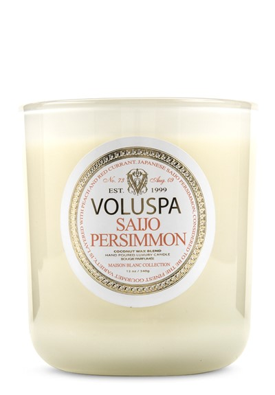Saijo Persimmon Scented Candle  by Voluspa Candles