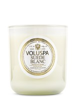 Suede Blanc by Voluspa Candles