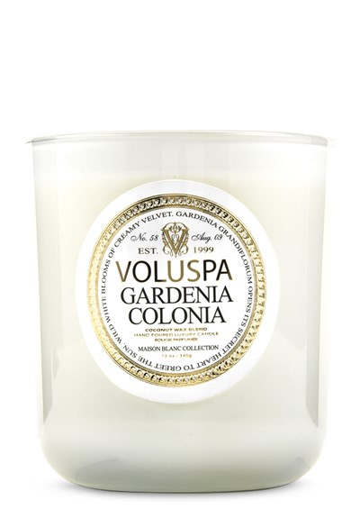 Gardenia Colonia Scented Candle  by Voluspa Candles