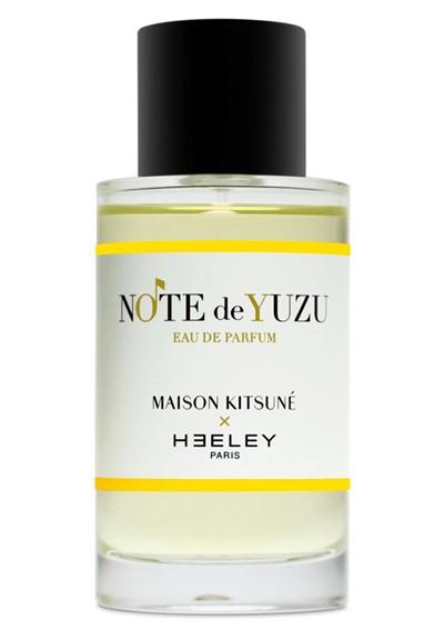 Note de Yuzu Eau de Parfum  by HEELEY