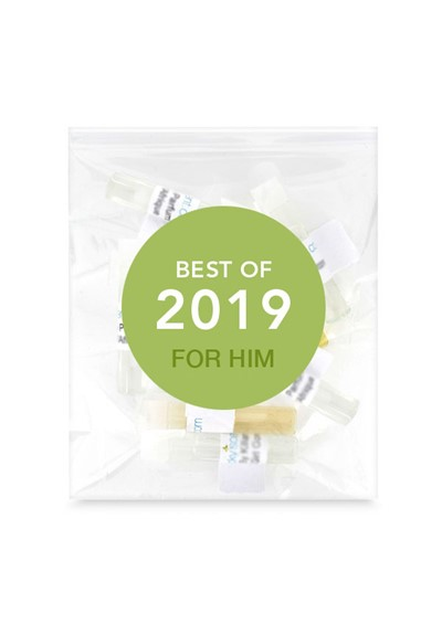 Best of 2019 - For Him   by Luckyscent Sample Packs