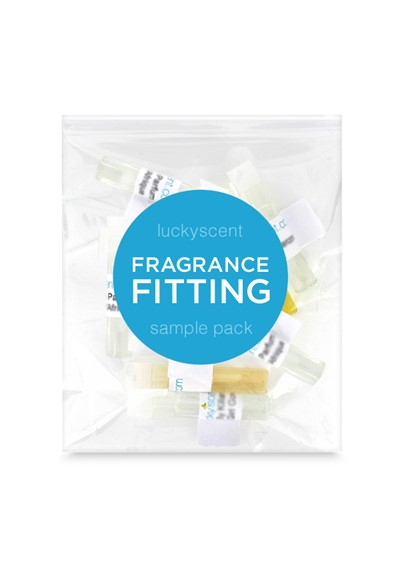 Fragrance Fitting - Custom Sample Pack    by Luckyscent Sample Packs