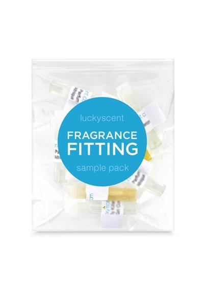 Fragrance Fitting - Custom Sample Pack   by Luckyscent Sample Packs