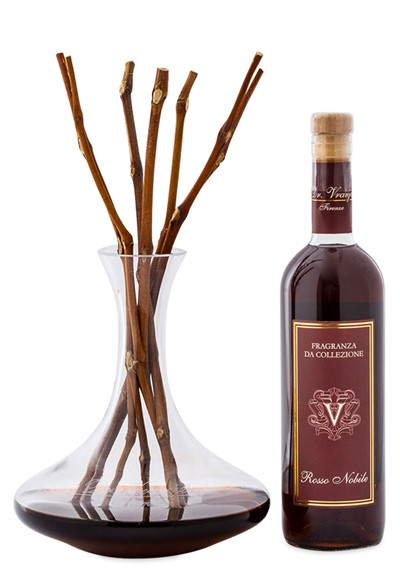 Rosso Nobile - Decanter with Vines - Deluxe Room Diffuser    by Dr. Vranjes
