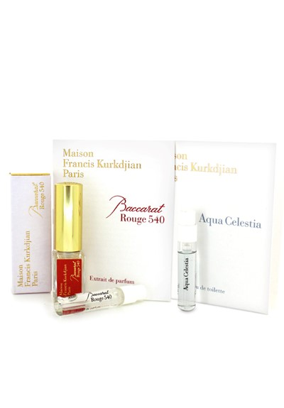 Maison Francis Kurkdjian trio   by Luckyscent Gifts With Purchase
