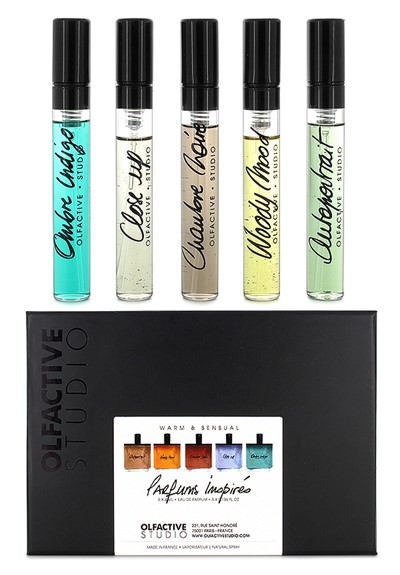 Olfactive Studio Warm and Sensual Discovery Set  Eau de Parfum  by Luckyscent Gifts With Purchase