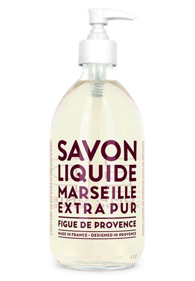 Savon De Marseille - Fig  Liquid Hand Soap  by Compagnie de Provence
