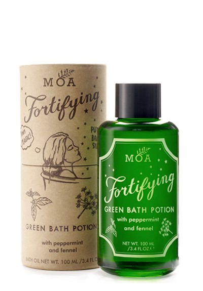 Fortifying Green Bath Potion  Bath Oil  by Moa