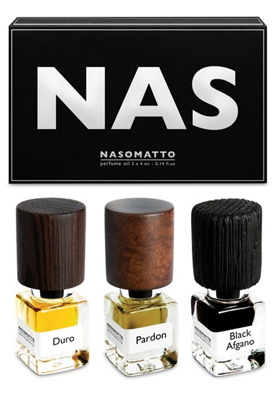 NAS Mini Oils Set Extrait de Parfum Oil  by Nasomatto