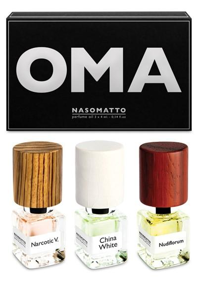 OMA Mini Oils Set Extrait de Parfum Oil  by Nasomatto