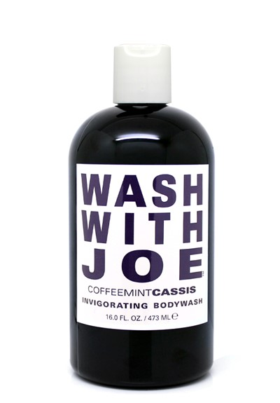 Coffee Mint Cassis Body Wash  Invigorating Wash  by Wash with Joe
