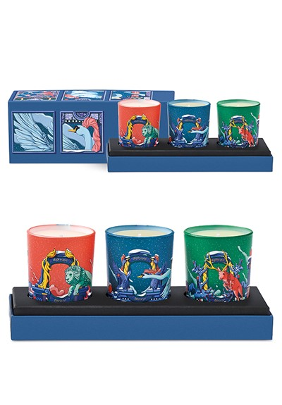 Holiday Candle Set  3-piece coffret  by Diptyque