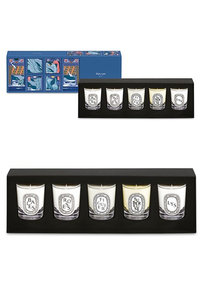 Holiday Candle Set 5-piece coffret  by Diptyque