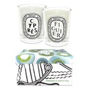 Figuier & Cypress Candle Duo by Diptyque