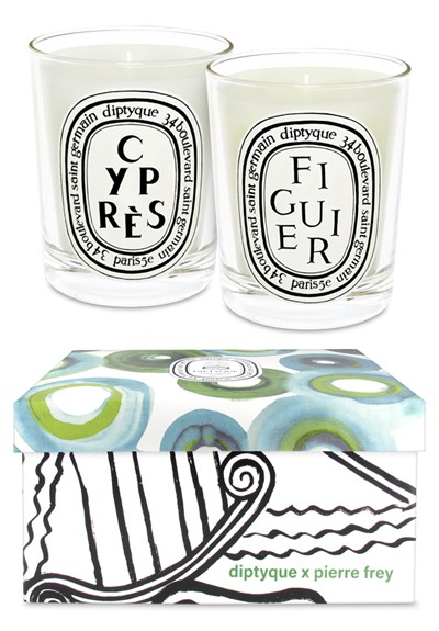 Figuier & Cypress Candle Duo  Scented Candle Duo  by Diptyque