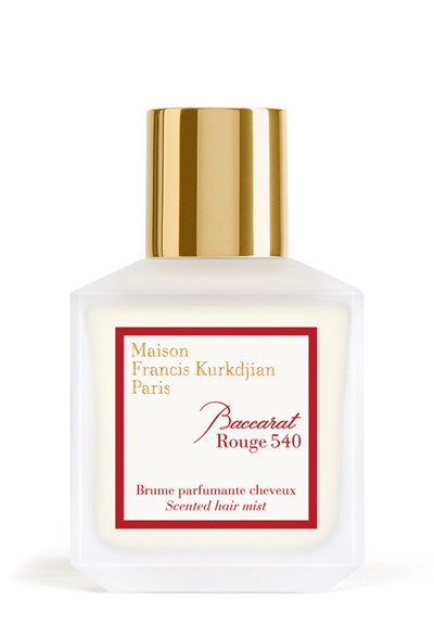 Baccarat Rouge 540 Hair Mist Scented Hair Perfume By Maison Francis
