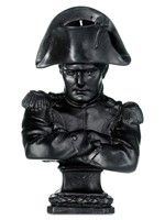 Napoleon Wax Bust - Black by Cire Trudon