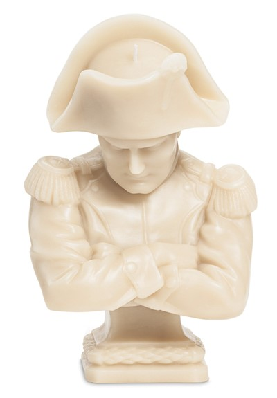 Napoleon Wax Bust - Stone   by Cire Trudon