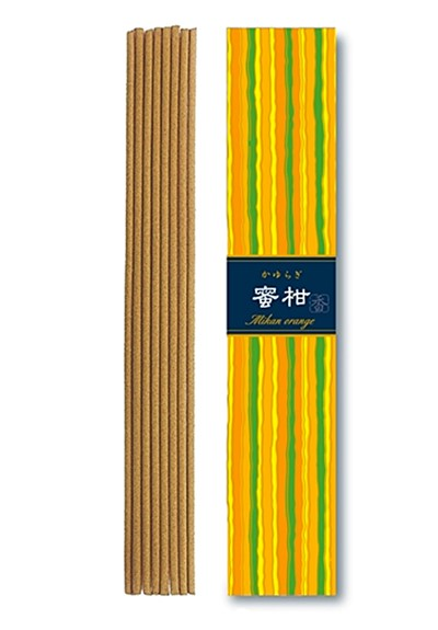 Kayuragi Mikan Orange  Incense Sticks  by Nippon Kodo