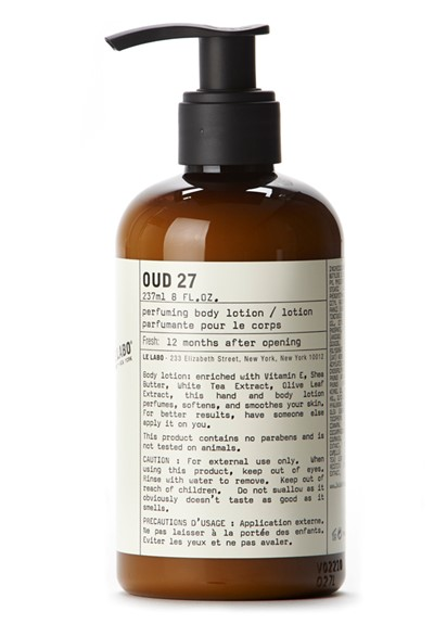 Oud 27 Body Lotion    by Le Labo Body Care