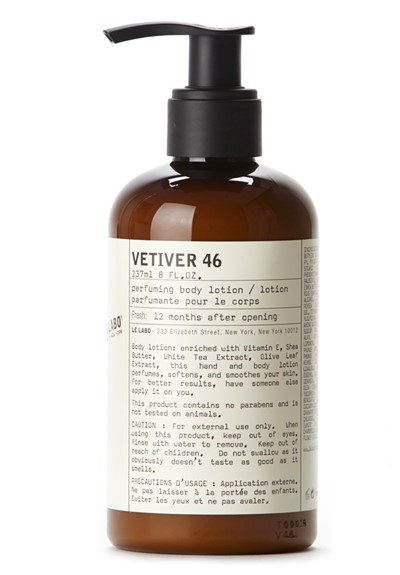 Vetiver 46 Body Lotion    by Le Labo Body Care