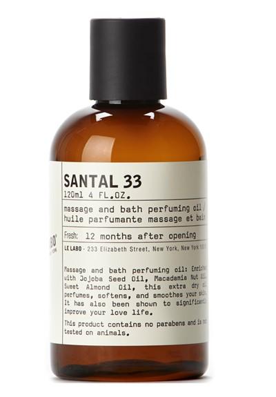 Santal 33 Massage and Bath Oil   by Le Labo Body Care
