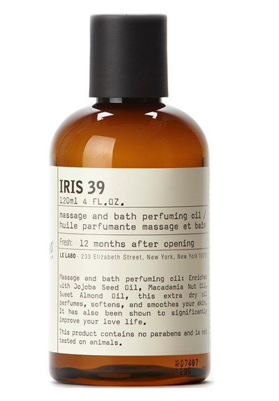 Iris 39 Massage and Bath Oil   by Le Labo Body Care