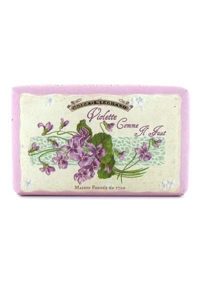 Violette Comme Il Faut soap Single soap  by Oriza L. Legrand