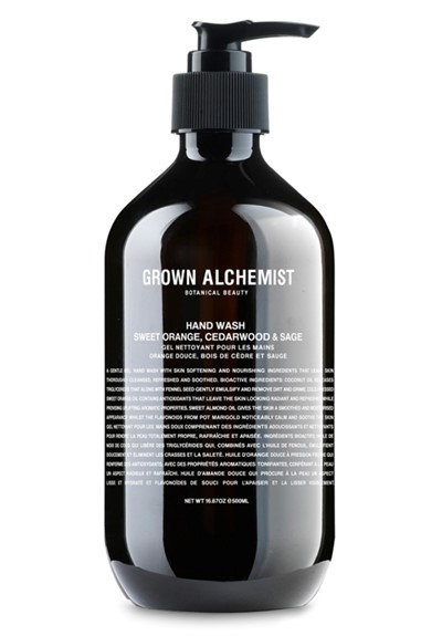 Hand Wash: Sweet Orange, Cedarwood & Sage    by Grown Alchemist