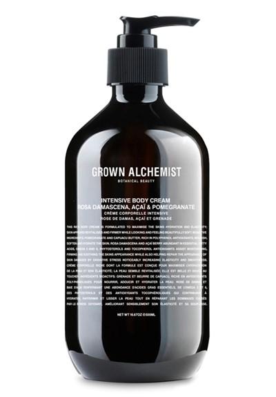 Intensive Body Cream: Rosa Damascena, Acai & Pomegranate   by Grown Alchemist